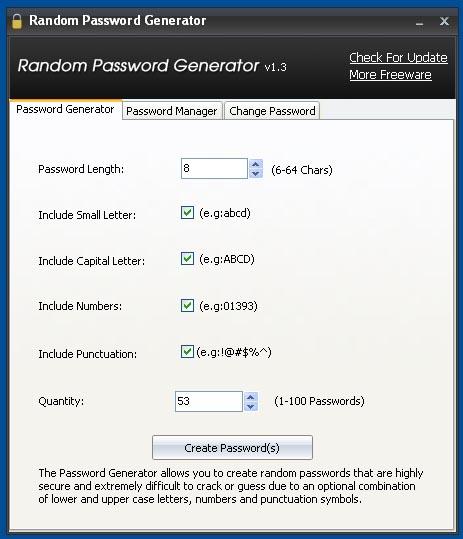 Gestione delle password