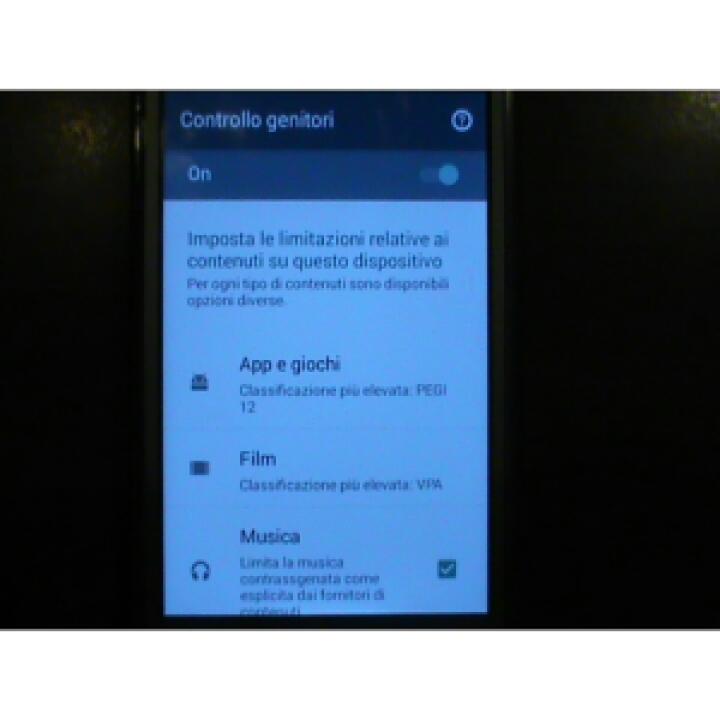 Google Play Controllo genitori