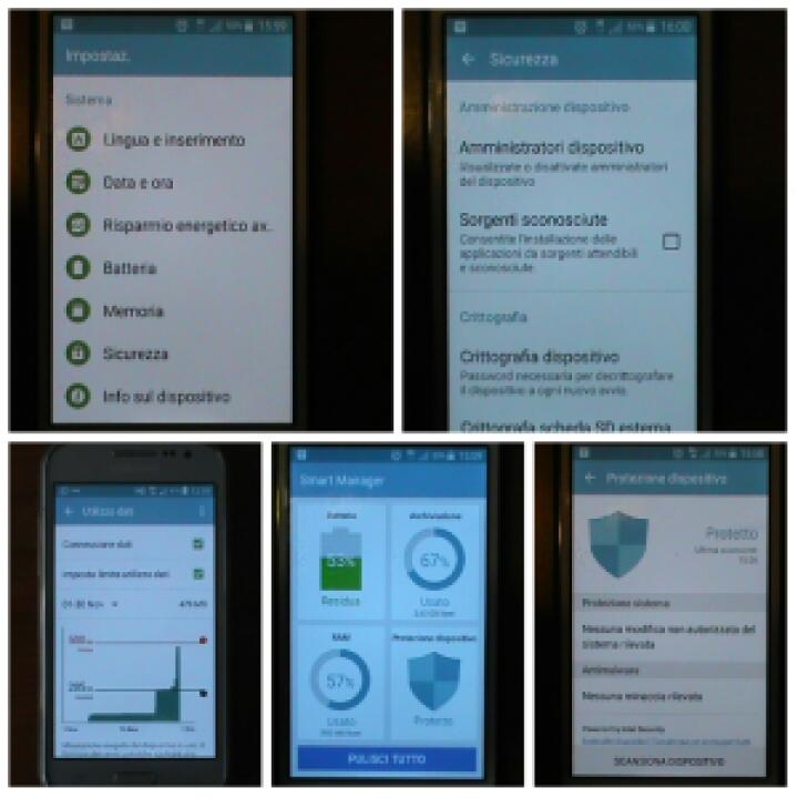 Funzioni base Android